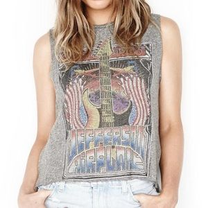 Euc Lauren Moshi Jefferson Airplane rock tank